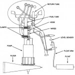 94 - 95 Mustang Fuel Pump Diagram