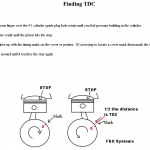 How to find Top Dead Center TDC on a motor