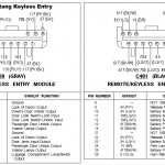 Wire Diagram for Keyless Entry
