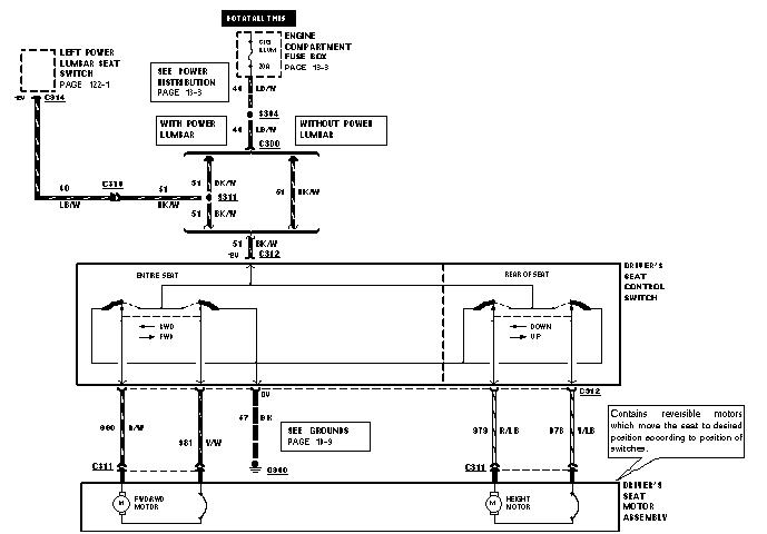 1994 mustang power seat diagram wiring diagram 2005 Explorer Wiring Diagram