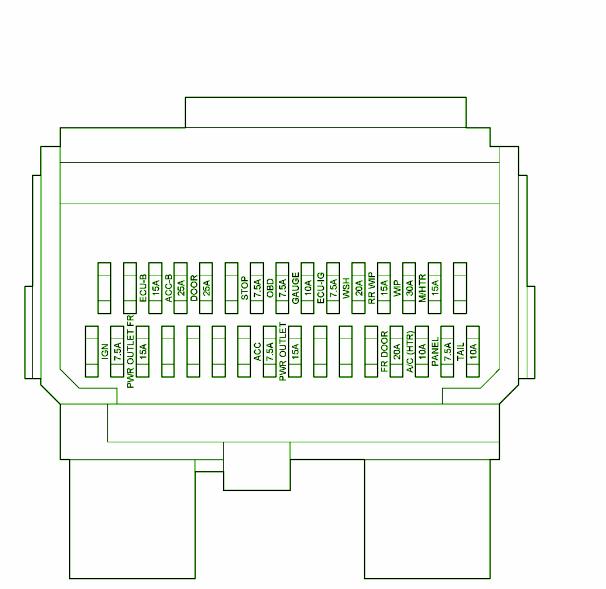 2008 Prius Fuse Box Layout : Honda prius fuse box diagram