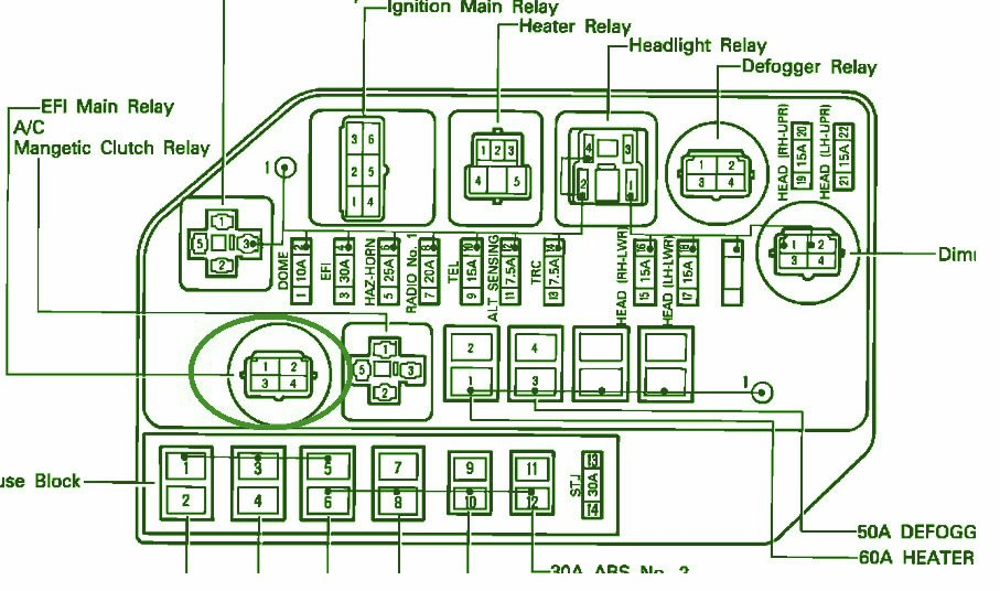 1992 Lexus SC400 Fuse Box Diagram 1992 lexus sc400 fuse box diagram sc400 wiring diagram at n-0.co
