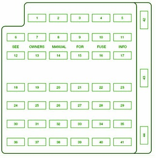 2015 mustang fuse box 2015 automotive wiring diagrams 2004 ford mustang main fuse box diagram