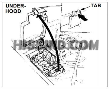 1993 Honda Del Sol Fuse Box Diagram
