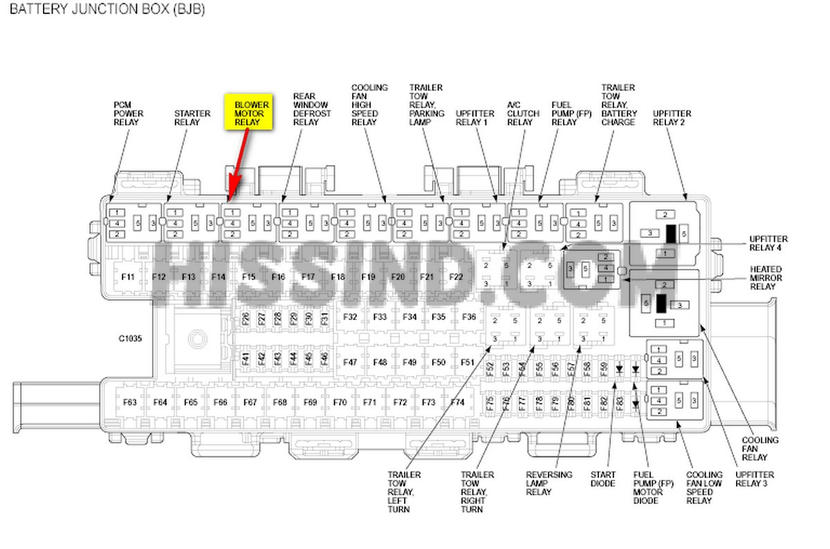 2012 ford f150 fuse relay box diagram