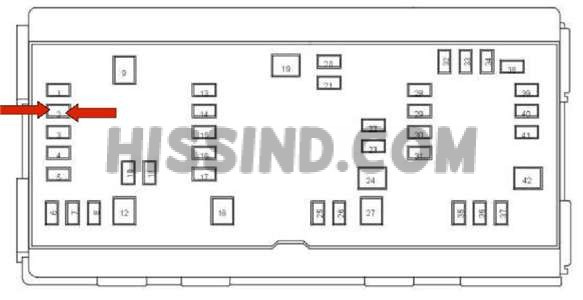 2009 Dodge Ram 1500 Fuse Box Diagram Identification Location 09