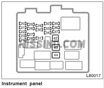 1998 toyota camry fuse box diagram, location, description  mustang diagrams